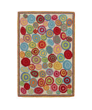 RugStudio presents Company C Candy 19216 Multi Hand-Hooked Area Rug