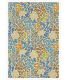 RugStudio presents Company C Sea Glass 80954 Lagoon Hand-Tufted, Good Quality Area Rug