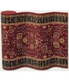 RugStudio presents Couristan Royal Kashimar Cypress Garden Persian Red 0621-2597 Machine Woven, Good Quality