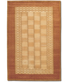 RugStudio presents Couristan Silken Treasures Charisma Berber Ivory - Rose Dust 1850-0025 Hand-Knotted, Better Quality Area Rug