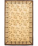 RugStudio presents Couristan Silken Treasures Silk Vine Berber Ivory 1850-0030 Hand-Knotted, Better Quality Area Rug