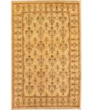 RugStudio presents Couristan Chobi Kerman Creme / Cream 3320-0017 Hand-Knotted, Best Quality Area Rug