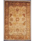 RugStudio presents Couristan Chobi Sarouk Pearl Grey 3325-0007 Hand-Knotted, Best Quality Area Rug