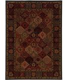 RugStudio presents Couristan Everest Antique Baktiari Midnight 3721-4876 Woven Area Rug