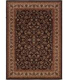 RugStudio presents Couristan Everest Isfahan Black 3791-6025 Machine Woven, Better Quality Area Rug