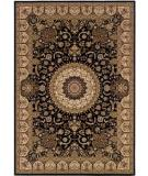 RugStudio presents Couristan Himalaya Sarouk Ebony 6257-1000 Woven Area Rug
