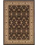 RugStudio presents Couristan Himalaya Isfahan Ebony-Antique Cream 6259-1000 Woven Area Rug