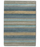 RugStudio presents Couristan Oasis Caribbean Vista Sky Blue 6857-0402 Hand-Tufted, Better Quality Area Rug
