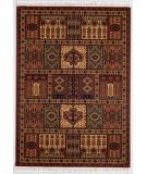 RugStudio presents Couristan Kashimar Antique Nain Burgundy 7886-1945 Machine Woven, Better Quality Area Rug