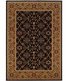 RugStudio presents Couristan Royal Kashimar Ushak Black-Deep Maple 8198-2596 Machine Woven, Best Quality Area Rug
