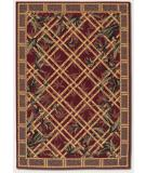 RugStudio presents Rugstudio Famous Maker 39173 Raspberry Machine Woven, Good Quality Area Rug