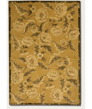 RugStudio presents Couristan Impressions Oriental Garden Sage/Raspberry Hand-Knotted, Good Quality Area Rug