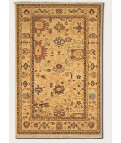 RugStudio presents Couristan Eden Summer Vines Ivory/Ruby Hand-Knotted, Best Quality Area Rug