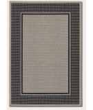 RugStudio presents Couristan Tides Astoria Black/Grey Flat-Woven Area Rug