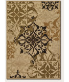 RugStudio presents Couristan Urbane Gatesby Sand/Ivory Machine Woven, Good Quality Area Rug