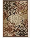 RugStudio presents Couristan Urbane Gatesby Tan-Terra Cotta 5714-0136 Machine Woven, Good Quality Area Rug
