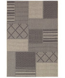 RugStudio presents Couristan Tides Rockville Black/Grey Machine Woven, Good Quality Area Rug