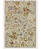 RugStudio presents Couristan Eden Spring Blooms Ivory 0231-0031 Hand-Knotted, Best Quality Area Rug