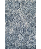 RugStudio presents Couristan Graphite Ripples Ivory/Azure Area Rug