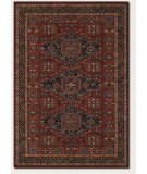 RugStudio presents Couristan Old World Classics Kashkai Burgundy Machine Woven, Good Quality Area Rug