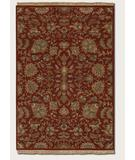 RugStudio presents Couristan Jangali All Over Tabriz 0425 Rust 0105 Hand-Knotted, Best Quality Area Rug