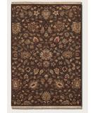 RugStudio presents Couristan Jangail Braganza 0477 Cocoa 0106 Hand-Knotted, Best Quality Area Rug