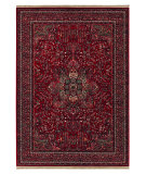 RugStudio presents Couristan Kashimar All Over Center Medallion Antique Red 0612-3337 Machine Woven, Better Quality Area Rug