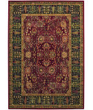 RugStudio presents Couristan Royal Kashimar Cypress Garden Persian Red 0621-2597 Machine Woven, Best Quality Area Rug