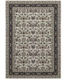 RugStudio presents Couristan Bacara Mandana Beige/Charcoal Machine Woven, Good Quality Area Rug