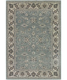 RugStudio presents Couristan Bacara Tahari Pewter/Beige Machine Woven, Good Quality Area Rug