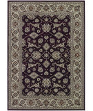 RugStudio presents Couristan Bacara Tahari Chocolate/Beige Machine Woven, Good Quality Area Rug