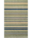 RugStudio presents Couristan Mystique Allure Azure/Mint Hand-Knotted, Good Quality Area Rug