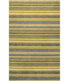 RugStudio presents Couristan Mystique Destiny Ivory/Olive/Corn Hand-Knotted, Good Quality Area Rug