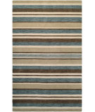RugStudio presents Couristan Mystique Bliss Ivory/Teal/Brown Area Rug