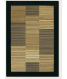 RugStudio presents Couristan Everest Hamptons Multstripe Black Machine Woven, Good Quality Area Rug