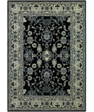 RugStudio presents Couristan Bacara Agassi Ebony/Beige Machine Woven, Good Quality Area Rug