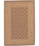 RugStudio presents Couristan Recife Garden Lattice 1016-3000 Natural-Cocoa Machine Woven, Good Quality Area Rug