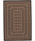 RugStudio presents Couristan Recife Tamworth 1017-2500 Cocoa-Black Machine Woven, Good Quality Area Rug
