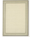 RugStudio presents Couristan Covington Spring Vista Neutrals/Blue Hand-Hooked Area Rug