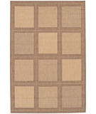 RugStudio presents Couristan Recife Summit 1043-3000 Natural-Cocoa Machine Woven, Good Quality Area Rug