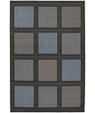 RugStudio presents Couristan Recife Summit 1043-5000 Blue-Black Machine Woven, Good Quality Area Rug