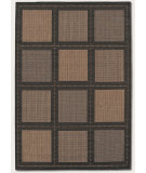 RugStudio presents Couristan Recife Summit Cocoa/Black Machine Woven, Good Quality Area Rug