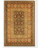 RugStudio presents Couristan Lahore Marasali Brown 1164-0179 Hand-Knotted, Best Quality Area Rug