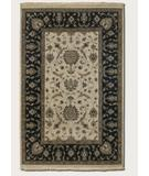 RugStudio presents Couristan Jangail All Over Isfahan Antique Ivory 1207-0207 Hand-Knotted, Best Quality Area Rug
