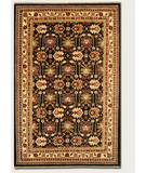 RugStudio presents Couristan Lahore Antique Kazak Black 1266-2568 Hand-Knotted, Best Quality Area Rug