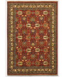 RugStudio presents Couristan Lahore Antique Kazak Reddish Clay Hand-Knotted, Good Quality Area Rug