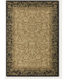 RugStudio presents Couristan Everest Fontana Gold/Black Machine Woven, Good Quality Area Rug