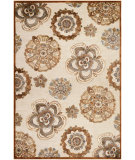 RugStudio presents Couristan Cire Gilmore Antique Cream/Terra Machine Woven, Good Quality Area Rug