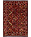 RugStudio presents Couristan Cire Palmer Multi Machine Woven, Good Quality Area Rug