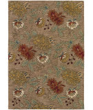 RugStudio presents Couristan Botanique Chloe Khaki Area Rug